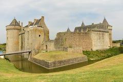 Castillo de Suscinio, Bretaña, Francia Foto de archivo libre de regalías