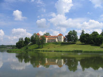 Castillo de Svirge Fotografía de archivo