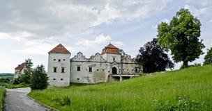 Castillo de Svirzh Fotografía de archivo