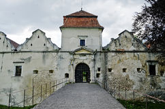 Castillo de Svirzh Foto de archivo