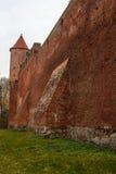 Castillo de Szymbark en Polonia Foto de archivo