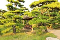 Castillo de Takamatsu Imagenes de archivo
