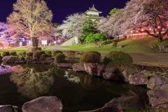Castillo de Takashima Imagen de archivo libre de regalías