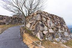 Castillo de Takeda imagenes de archivo