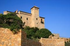 Castillo de Tamarit Imagenes de archivo