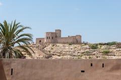 Castillo de Taqah, Dhofar (Omán) imágenes de archivo libres de regalías