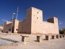 Castillo de Taqah, Omán fotos de archivo libres de regalías