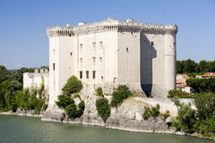 Castillo de Tarascon fotografía de archivo libre de regalías