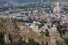 Castillo de Tbilisi Imagen de archivo libre de regalías