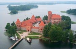 Castillo de Trakai Fotografía de archivo