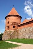 Castillo de Trakai Imágenes de archivo libres de regalías