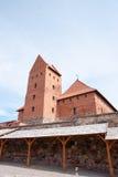 Castillo de Trakai Fotos de archivo