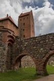 Castillo de Trakai lituania Fotos de archivo libres de regalías