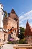 Castillo de Trausnitz Foto de archivo libre de regalías