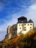 Castillo de Trencin fotografía de archivo libre de regalías
