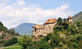 Castillo de Trentino Roncolo imágenes de archivo libres de regalías