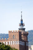 Castillo de tres dragones Imagen de archivo