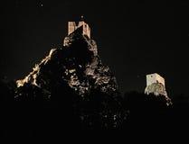 Castillo de Trosky Imágenes de archivo libres de regalías