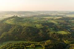 Castillo de Trosky en República Checa fotografía de archivo