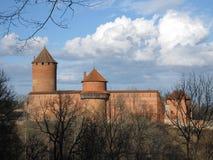 Castillo de Turaida en Sigulda Letonia fotos de archivo