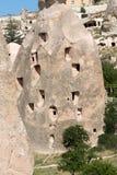 Castillo de Uchisar en Cappadocia, Foto de archivo