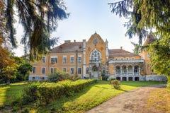 Castillo de Ugron, Rumania Imagen de archivo