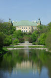 Castillo de Ujazdow (Zamek Ujazdowski), Varsovia, Polonia imagen de archivo libre de regalías
