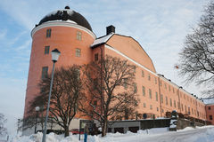 Castillo de Uppsala Fotos de archivo libres de regalías