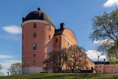 Castillo de Uppsala Imagen de archivo libre de regalías