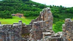 Castillo de Urquhart almacen de video