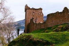 Castillo de Urquhart fotos de archivo