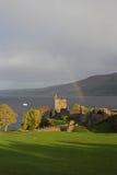Castillo de Urquhart fotos de archivo libres de regalías