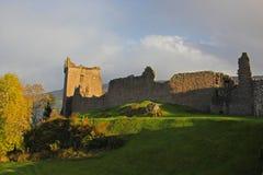 Castillo de Urquhart fotografía de archivo
