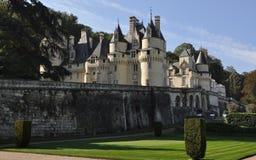 Castillo de Usse fotos de archivo libres de regalías