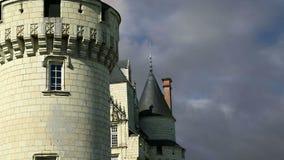 Castillo de Usse, el valle del Loira, Francia --también conocido como castillo del ` s de la bella durmiente almacen de video