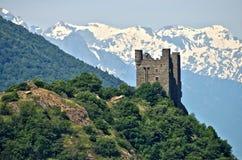 Castillo de Ussel Stock Images