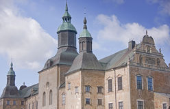 Castillo de Vadstena fotografía de archivo libre de regalías