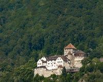 Castillo de Vaduz en Liechtenstein Foto de archivo