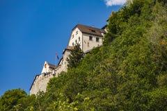 Castillo de Vaduz en Liechtenstein Imágenes de archivo libres de regalías