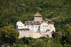 Castillo de Vaduz - Liechtenstein Foto de archivo