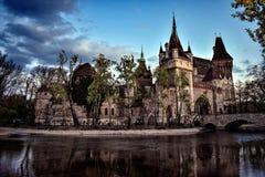 Castillo de Vajda Hunyad Foto de archivo libre de regalías