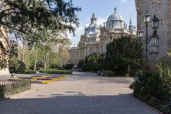 Castillo de Vajdahunya, Budapest, Hungría Fotos de archivo libres de regalías
