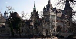 Castillo de Vajdahunyad Imágenes de archivo libres de regalías