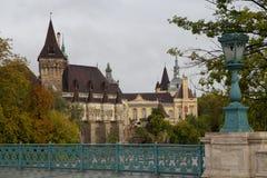 Castillo de Vajdahunyad, Budapest Imagenes de archivo