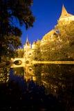 Castillo de Vajdahunyad en Budapest Fotos de archivo libres de regalías