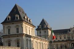 Castillo de Valentino Park - Turín, Piamonte, Italia Imágenes de archivo libres de regalías