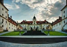 Castillo de Valtice Imágenes de archivo libres de regalías