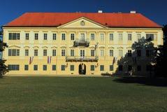 Castillo de Valtice Imagen de archivo libre de regalías