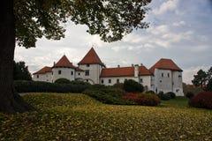 Castillo de Varazdin foto de archivo