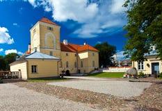 Castillo de Ventspils Imagen de archivo libre de regalías